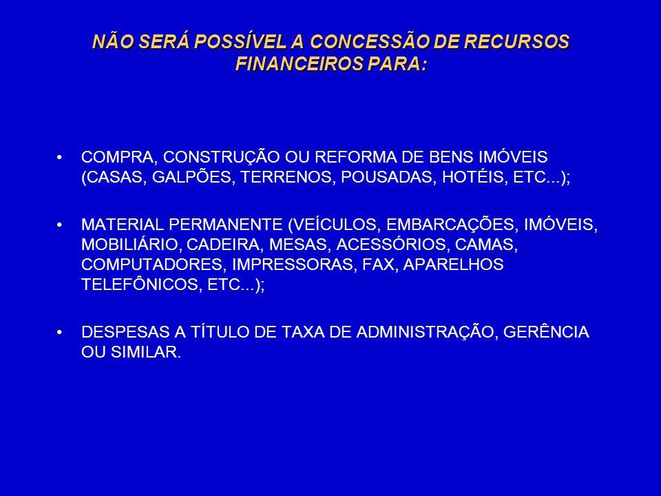 INSCRITAS NO CADASTRO NACIONAL DE PESSOA JURÍDICA –CNPJ, -ORGANIZAÇÕES, GOVERNAMENTAIS OU NÃO GOVERNAMENTAIS, SEM FINS LUCRATIVOS, INSCRITAS NO CADASTRO NACIONAL DE PESSOA JURÍDICA –CNPJ, REGULARMENTE CADASTRADAS NA SECRETARIA NACIONAL ANTIDROGAS – SENAD, COM ATUAÇÃO NAS ÁREAS DE: Prevenção; Tratamento e reinserção social; Redução de danos sociais e à saúde; Estudos, pesquisas e avaliações; Eventos científicos e de mobilização social.