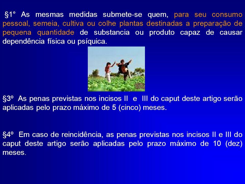 DOS CRIMES E DAS PENAS ART.28.