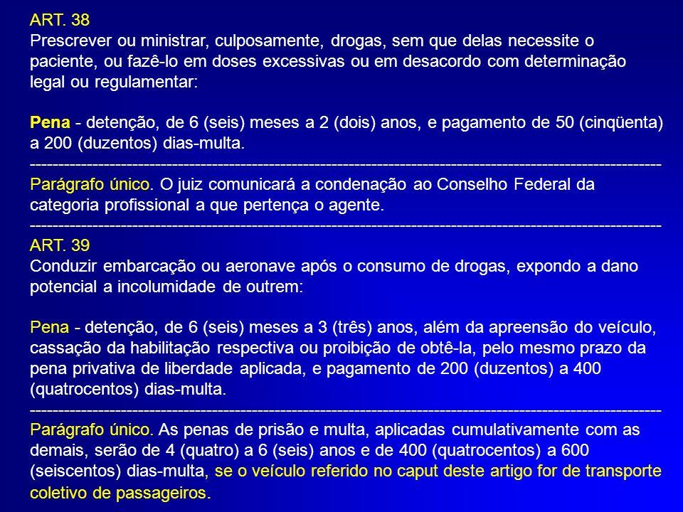 REDUÇÃO DE PENA §4º do art.33.