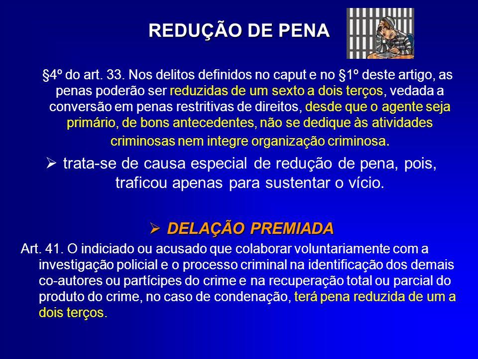 AUMENTO DE PENA Art.40. As penas previstas nos arts.
