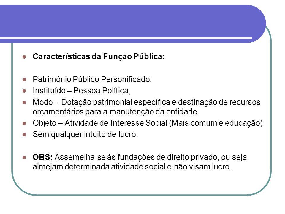 Divergências Doutrinárias: Espécie Jurídica – Direito Público ou Direito Privado Decreto 200/1967, Art.