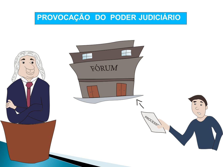 PROVOCAÇÃO DO PODER JUDICIÁRIO