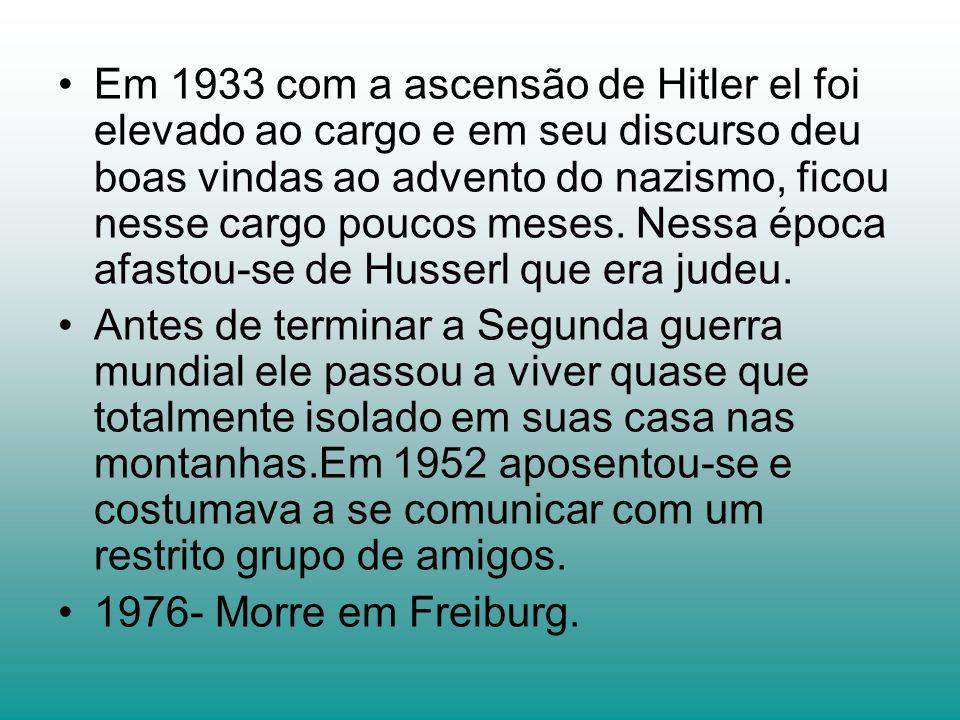 Em 1933 com a ascensão de Hitler el foi elevado ao cargo e em seu discurso deu boas vindas ao advento do nazismo, ficou nesse cargo poucos meses. Ness