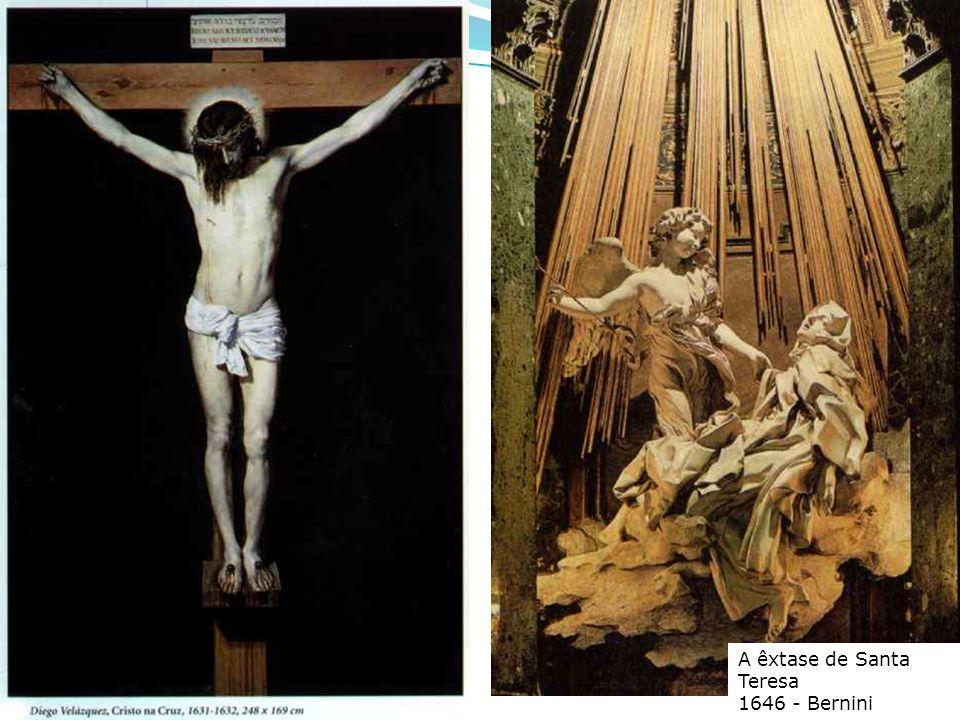 A êxtase de Santa Teresa 1646 - Bernini