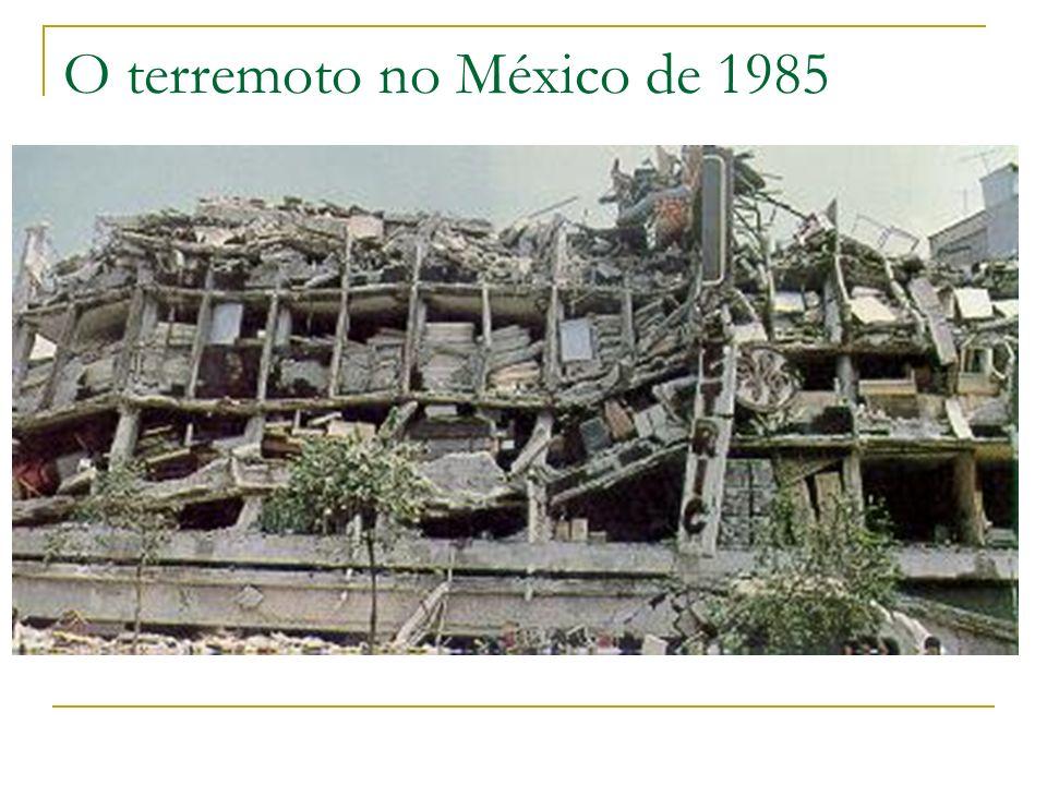 O terremoto no México de 1985