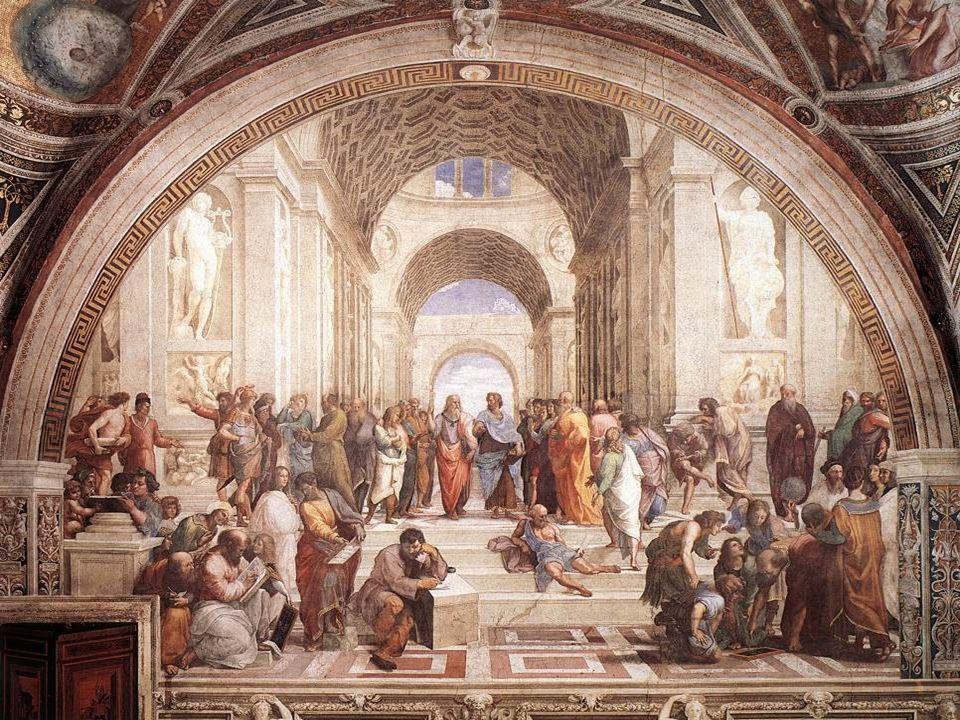 A Escola de Atenas é uma celebração da filosofia.