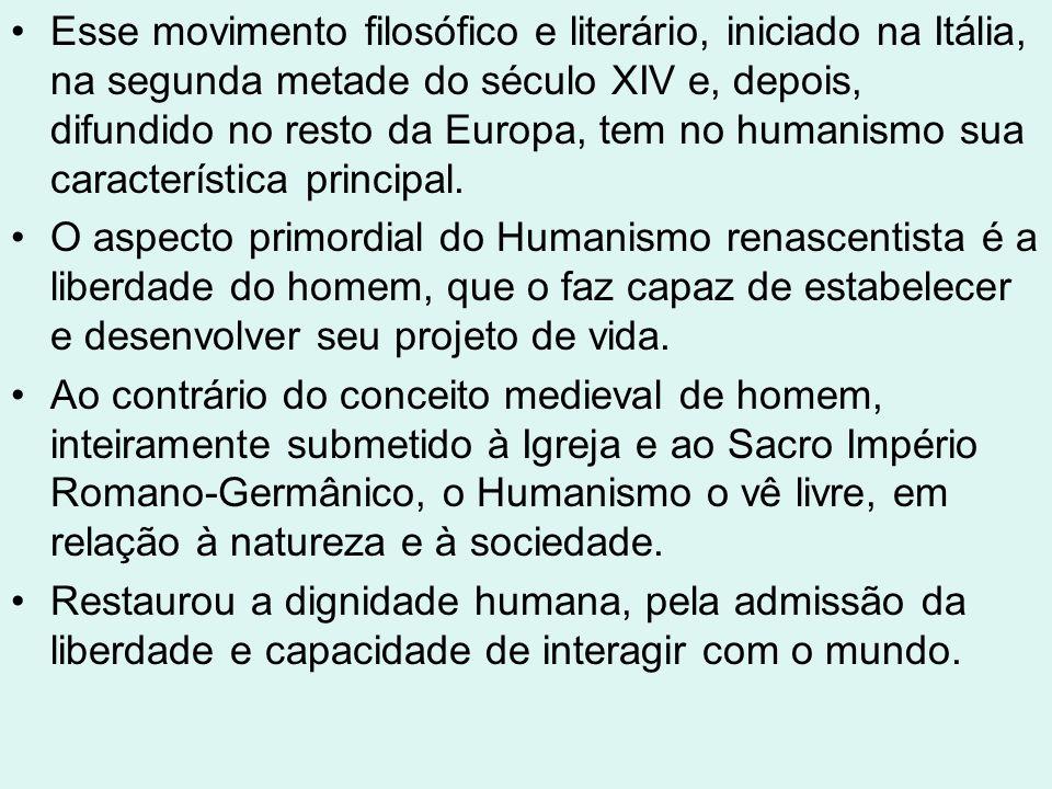 O termo humanismo originou-se do latim humanitas, definida por Cícero como a cultura que distingue o homem civilizado da natureza e da barbárie.