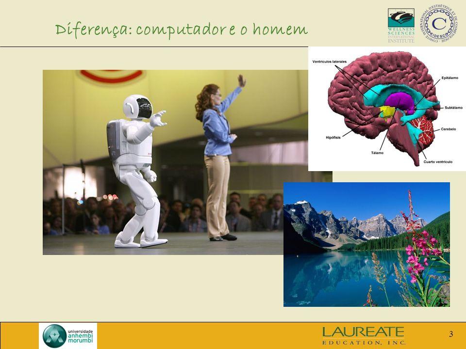 3 Diferença: computador e o homem