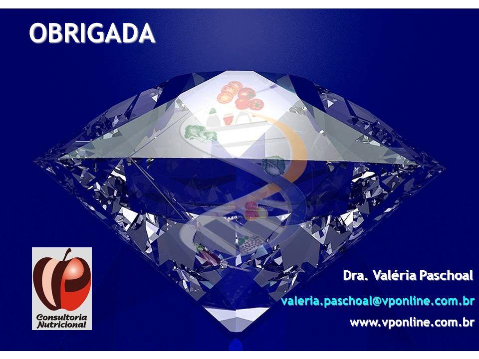 OBRIGADA Dra. Valéria Paschoal valeria.paschoal@vponline.com.brwww.vponline.com.br