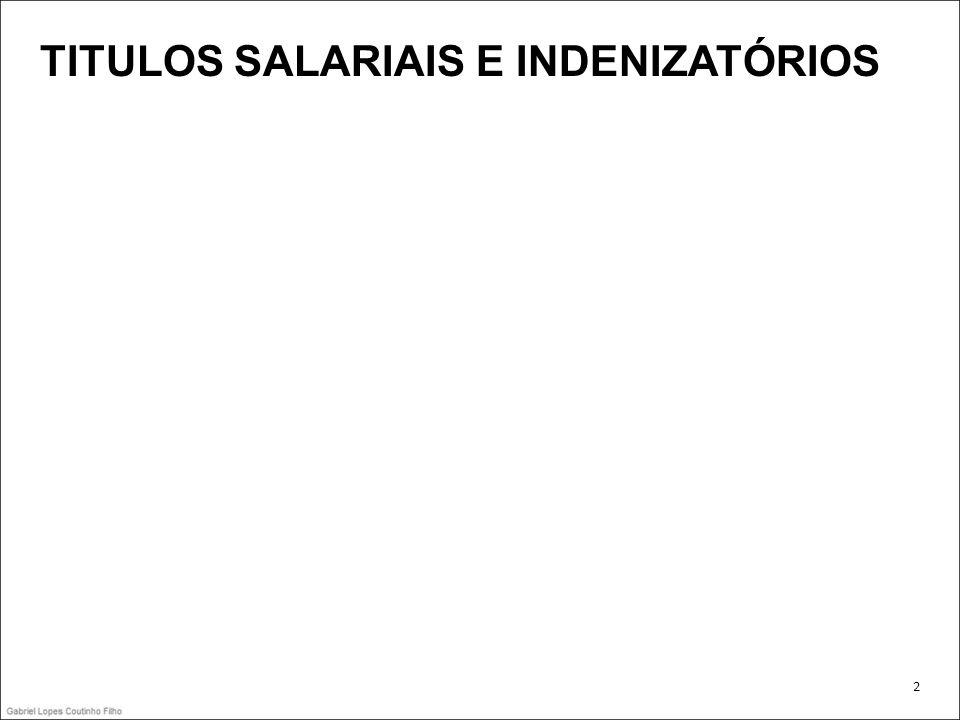 TITULOS SALARIAIS E INDENIZATÓRIOS 2