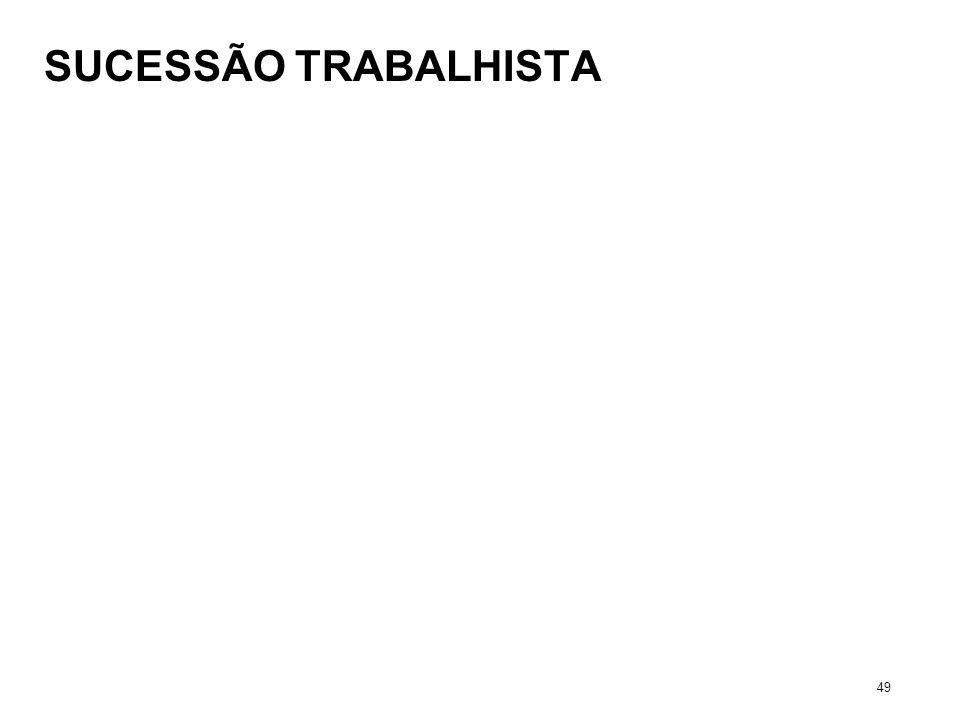 SUCESSÃO TRABALHISTA 49