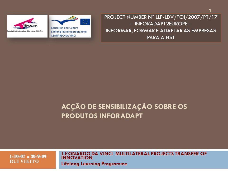 Justificação do produto O absentismo do trabalho, custa aos trabalhadores europeus aproximadamente um milhão de euros por ano.