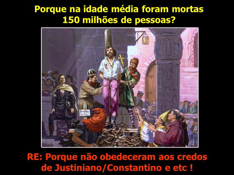 Os santos mortos baseavam a sua fé em um claro assim diz o Senhor.