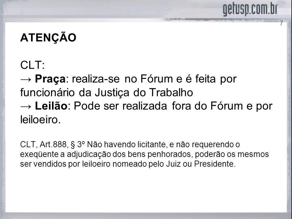 CUSTAS PROCESSUAIS NO PROCESSO DO TRABALHO Casos: PROCEDENCIA DA AÇÃO VALOR DA CONDENAÇÃO CLT, Art.