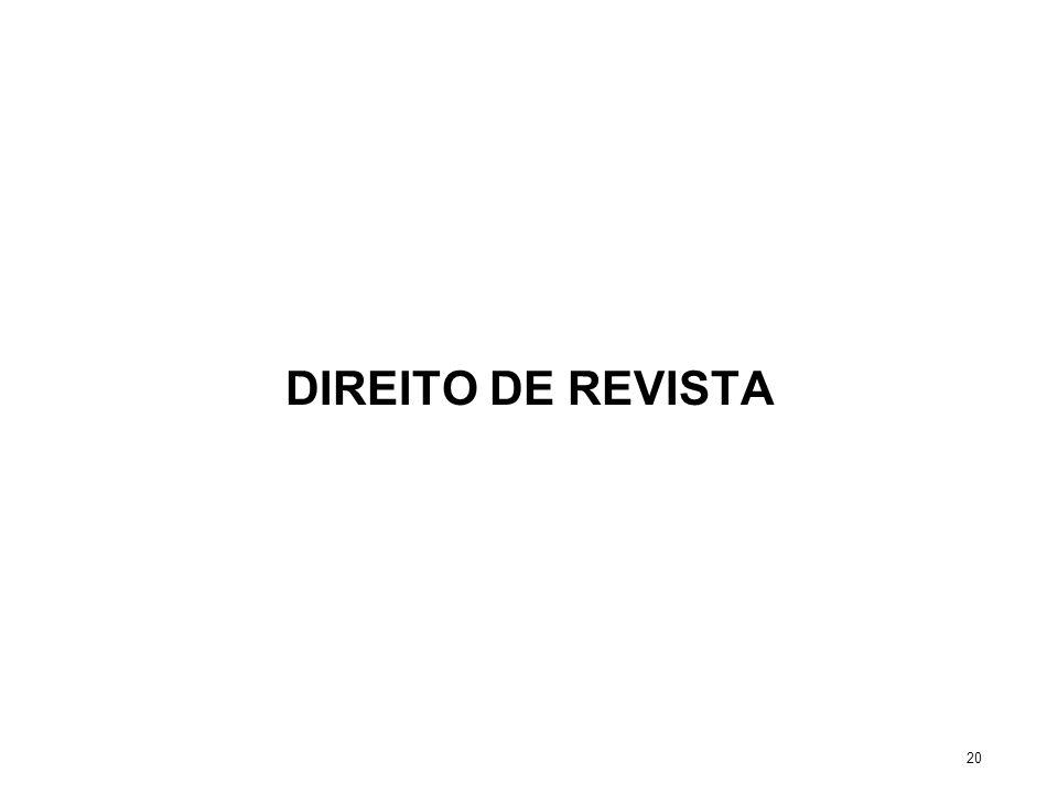 DIREITO DE REVISTA 20
