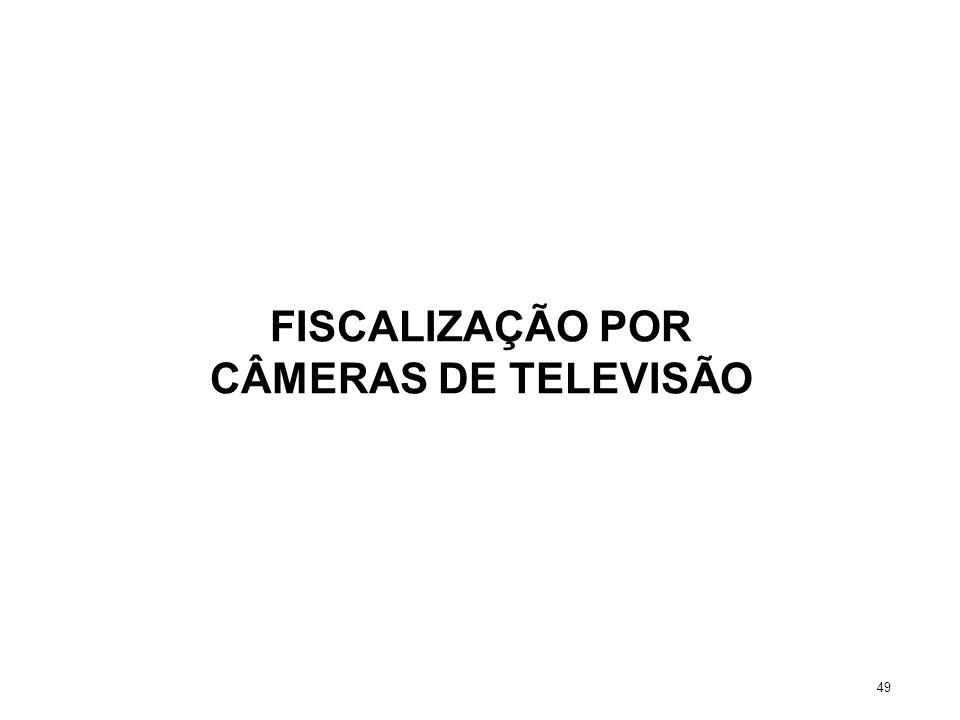 FISCALIZAÇÃO POR CÂMERAS DE TELEVISÃO 49