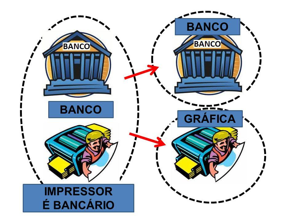 IMPRESSOR É BANCÁRIO BANCO GRÁFICA