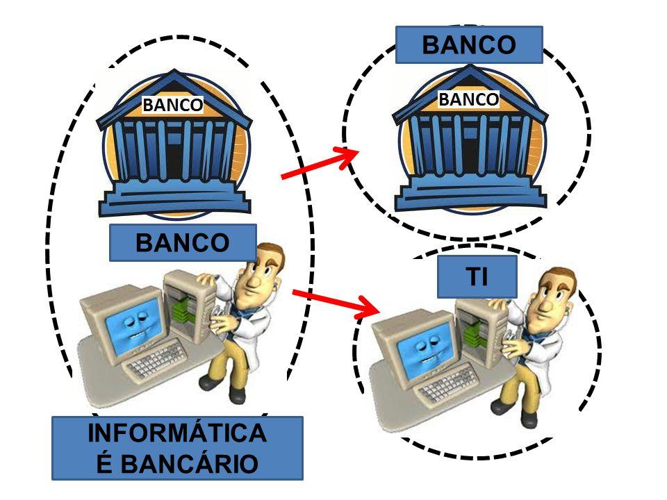 INFORMÁTICA É BANCÁRIO BANCO TI