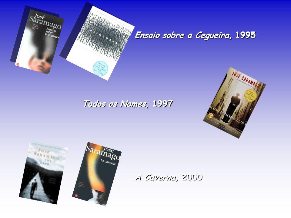 Ensaio sobre a Cegueira, 1995 Todos os Nomes, 1997 A Caverna, 2000