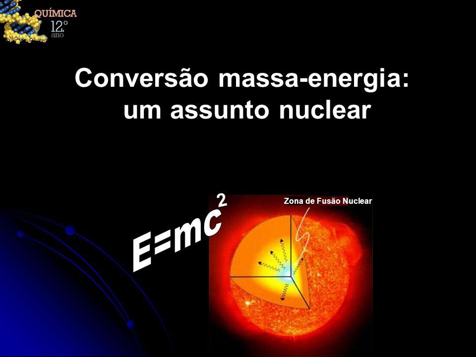 Conversão massa-energia: um assunto nuclear Zona de Fusão Nuclear 2