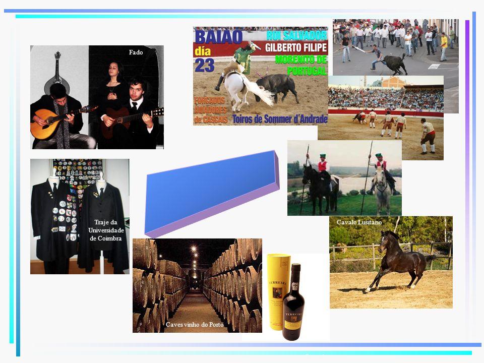 Cavalo Lusitano Fado Trajes estudantes Caves vinho do Porto Port wine Traje da Universidade de Coimbra