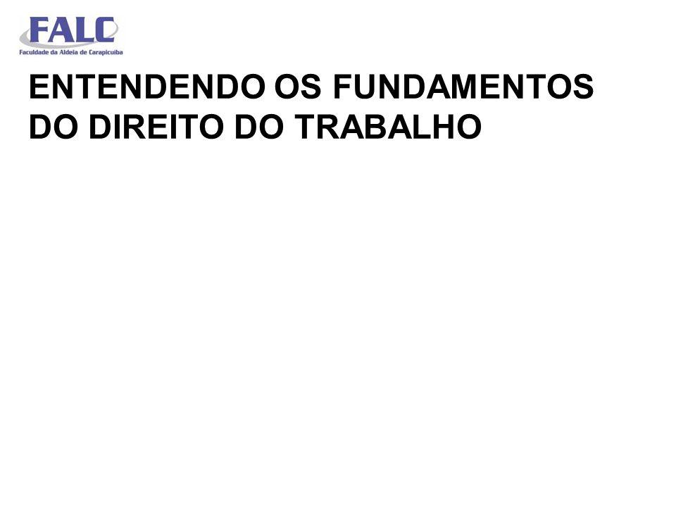 ENTENDENDO OS FUNDAMENTOS DO DIREITO DO TRABALHO