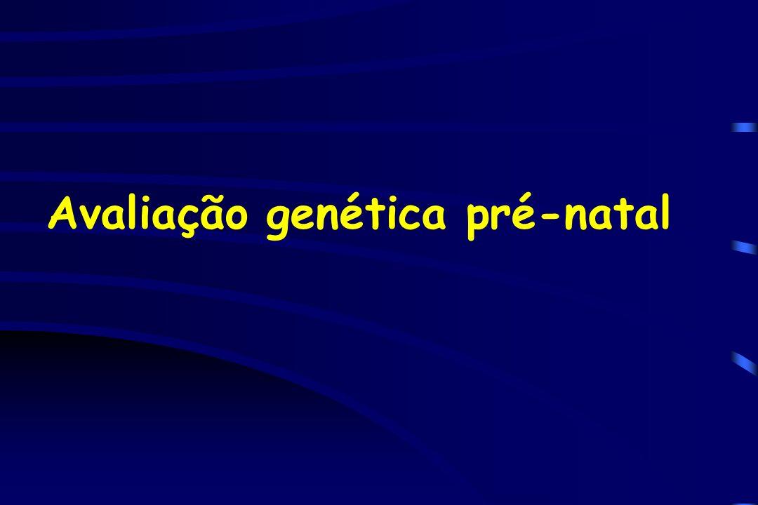 Avaliação genética pré-natal