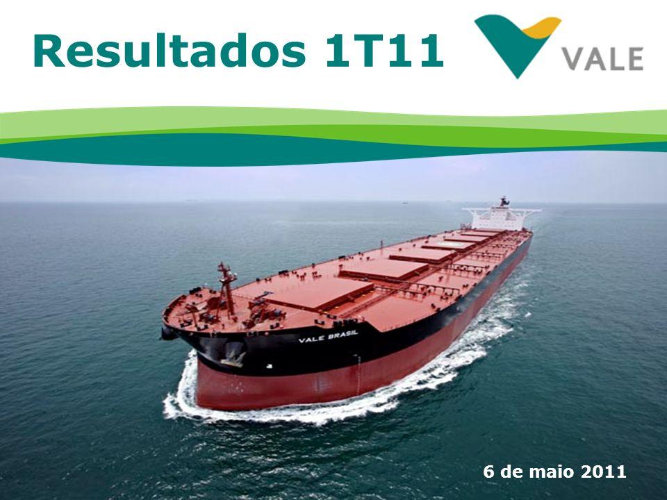 1 Resultados 1T11 6 de maio 2011
