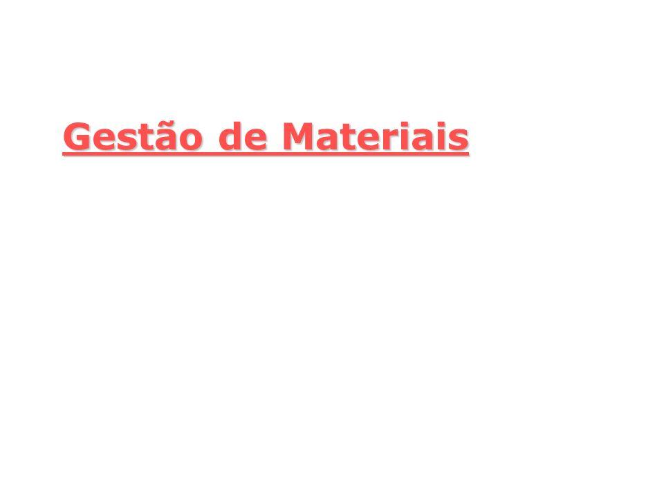 Gestão de Materiais