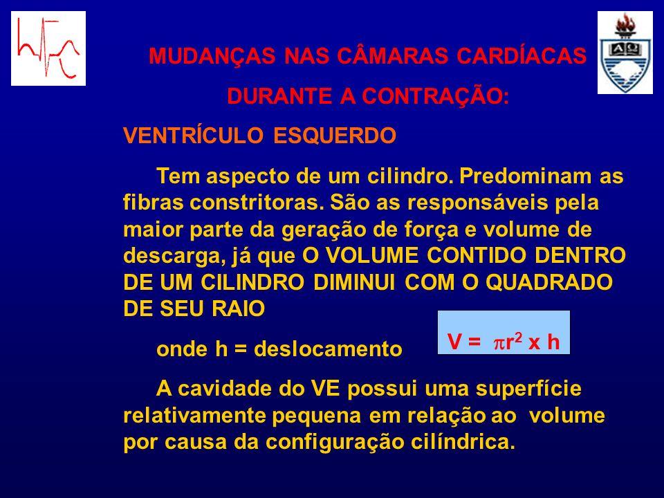 DÉBITO CARDÍACO (ou Volume-minuto) DC = VS x FC onde: VS = volume sistólico FC = freqüência cardíaca ÍNDICE CARDÍACO Débito cardíaco expresso em função da massa corporal IC = DC/SC SC= superfície corporal – ex.: homem com 70 Kg tem uma SC de 1,7 m 2 – IC= 3 L/min/m 2