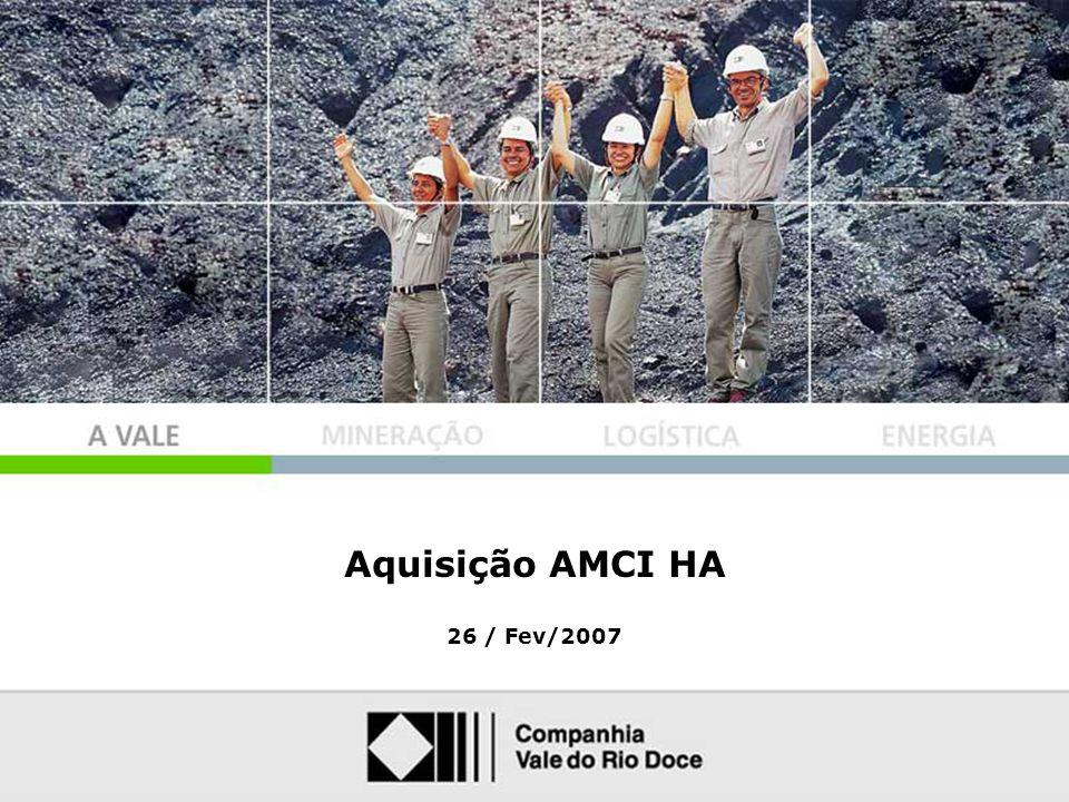 1 Aquisição AMCI HA 26 / Fev/2007