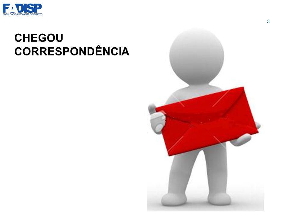 CHEGOU CORRESPONDÊNCIA 3