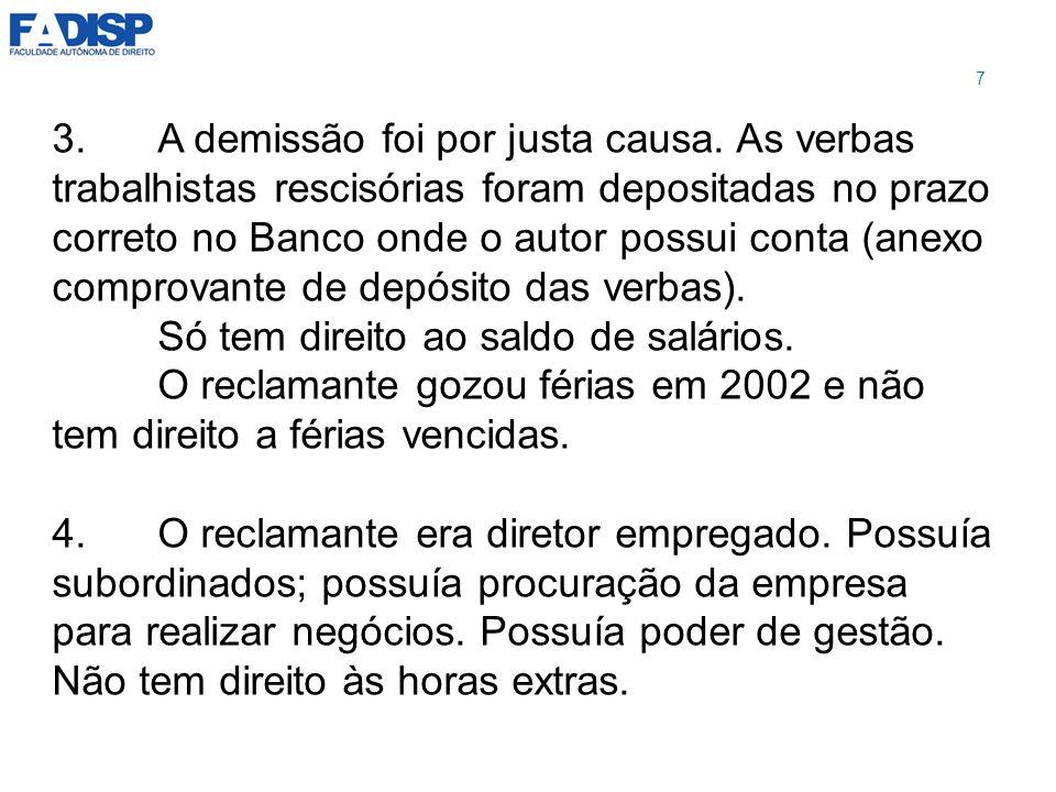 LIMITE TEMPORAL DA CAUSA ANO 1 ANO 2 38