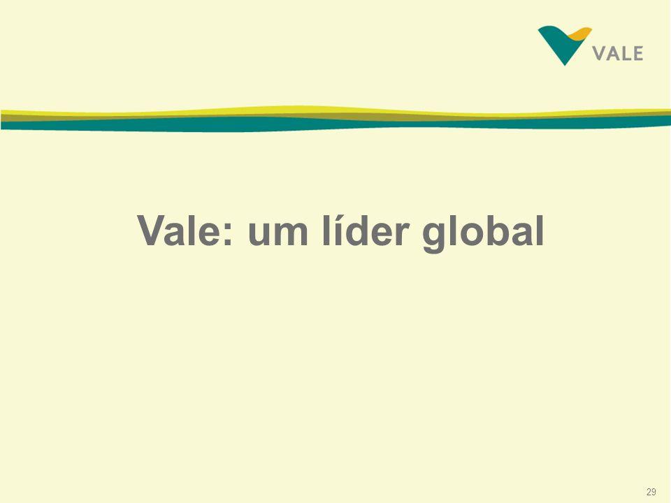 29 Vale: um líder global