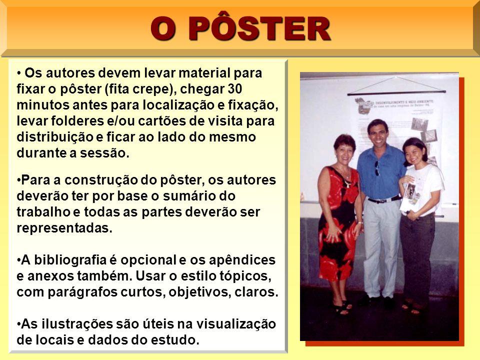 PÔSTERPÔSTER NORMALIZAÇÃO E UTILIZAÇÃO Elizabeth Teixeira