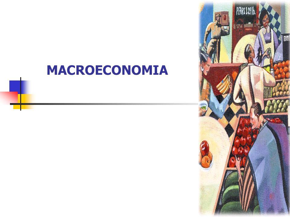 MACROECONOMIA – é a parte da economia que estuda as inter-relações de trocas em níveis mais abrangentes.