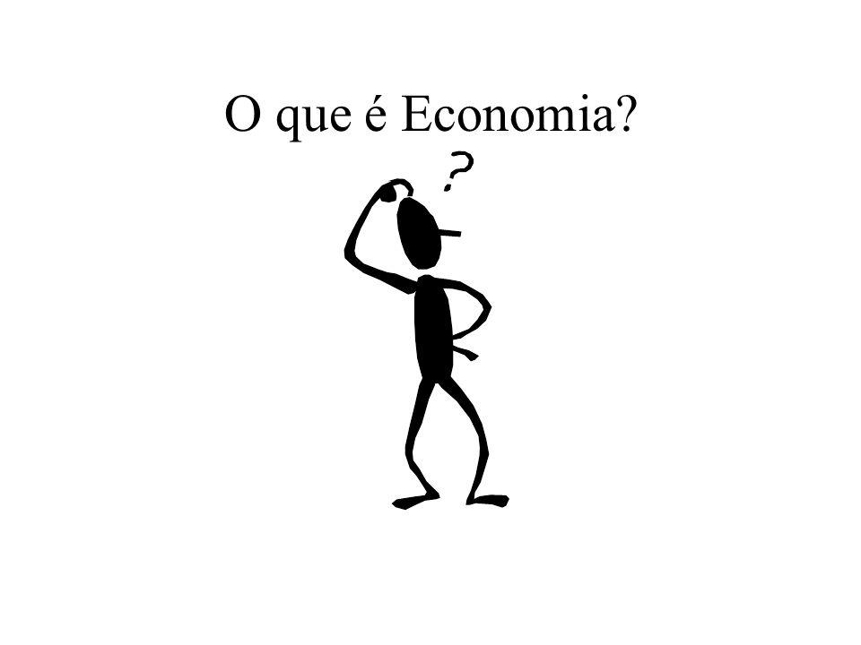O que é Economia.Do mesmo modo… Estudar ou trabalhar.