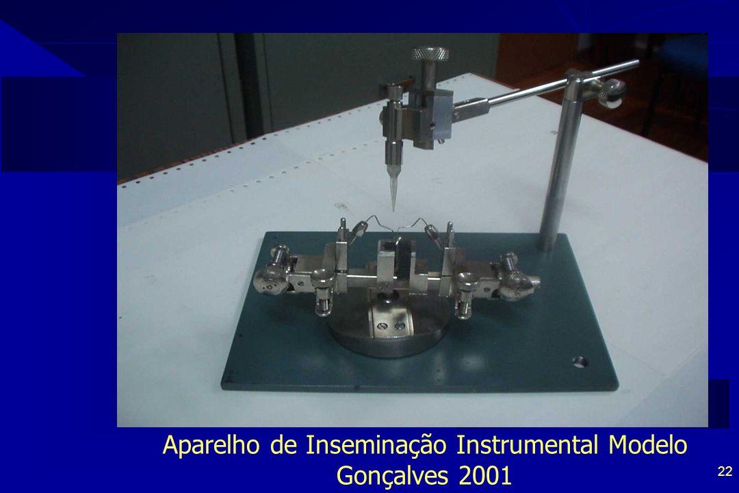 22 Aparelho de Inseminação Instrumental Modelo Gonçalves 2001