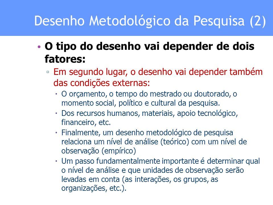 Procedimentos Metodológicos Descrever as hipóteses (caso tenham) Descrever o tipo de pesquisa; Descrever os passos da pesquisa, ou seja os procedimentos (resumo de cada passo realizado no desenvolvimento da investigação, os problemas enfrentados, como foram resolvidos, etc.).