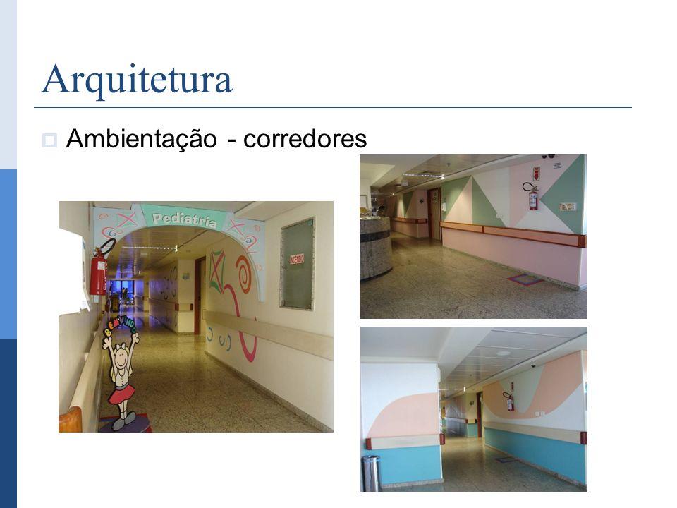 Arquitetura Ambientação - corredores