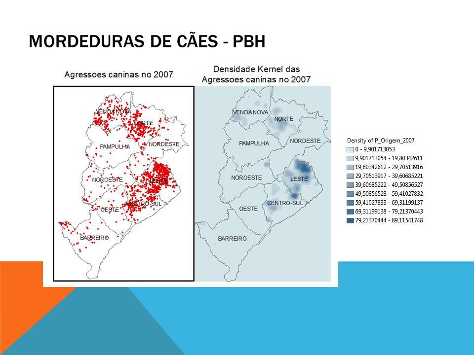 MORDEDURAS DE CÃES - PBH