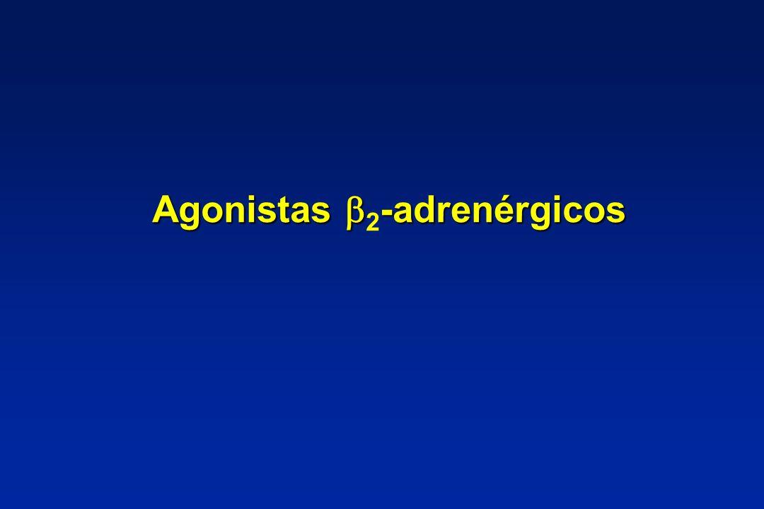 Agonistas -adrenérgicos Agonistas 2 -adrenérgicos
