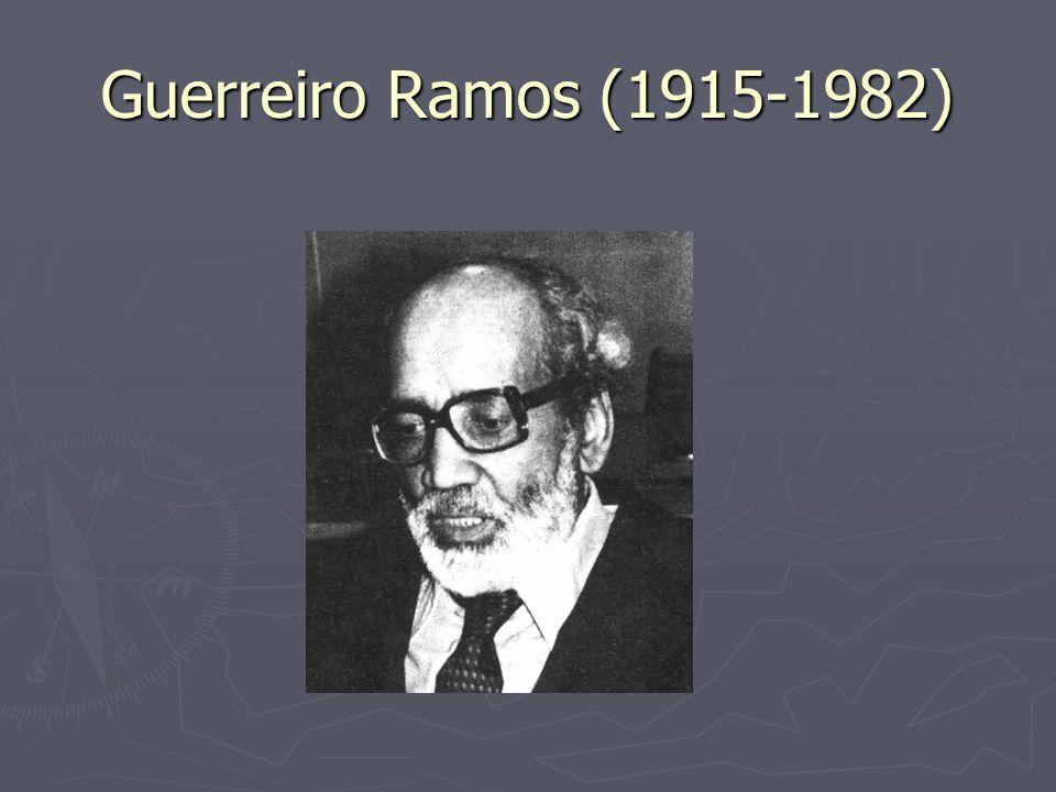 Origens Nascido em Santo Amaro – BA, no dia 13 de setembro de 1915 Influências do grupo católico francês LEspirit A partir de 1944, sofre influências de Weber, e se interessa pela teoria das organizações