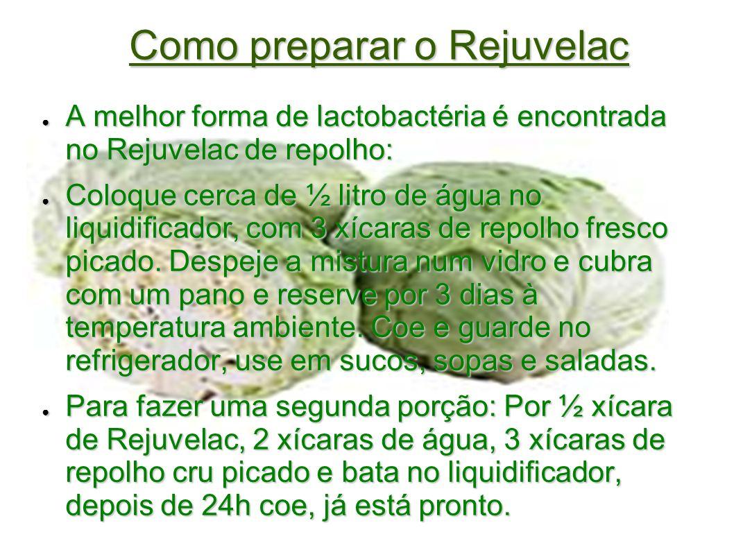 Como preparar o Rejuvelac A melhor forma de lactobactéria é encontrada no Rejuvelac de repolho: A melhor forma de lactobactéria é encontrada no Rejuve