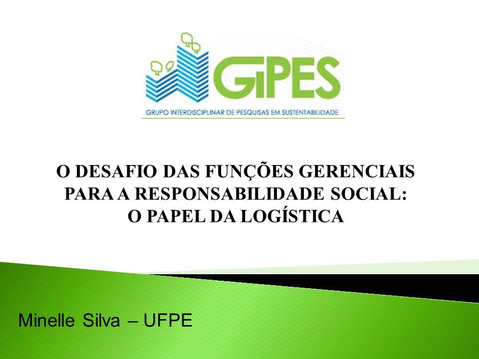 Responsabilidade socioambiental na cadeia de suprimentos; Empresa focal Sustentabilidade Seleção de fornecedores Sistema de Gestão Ambiental Produção Limpa Utilização de indicadores