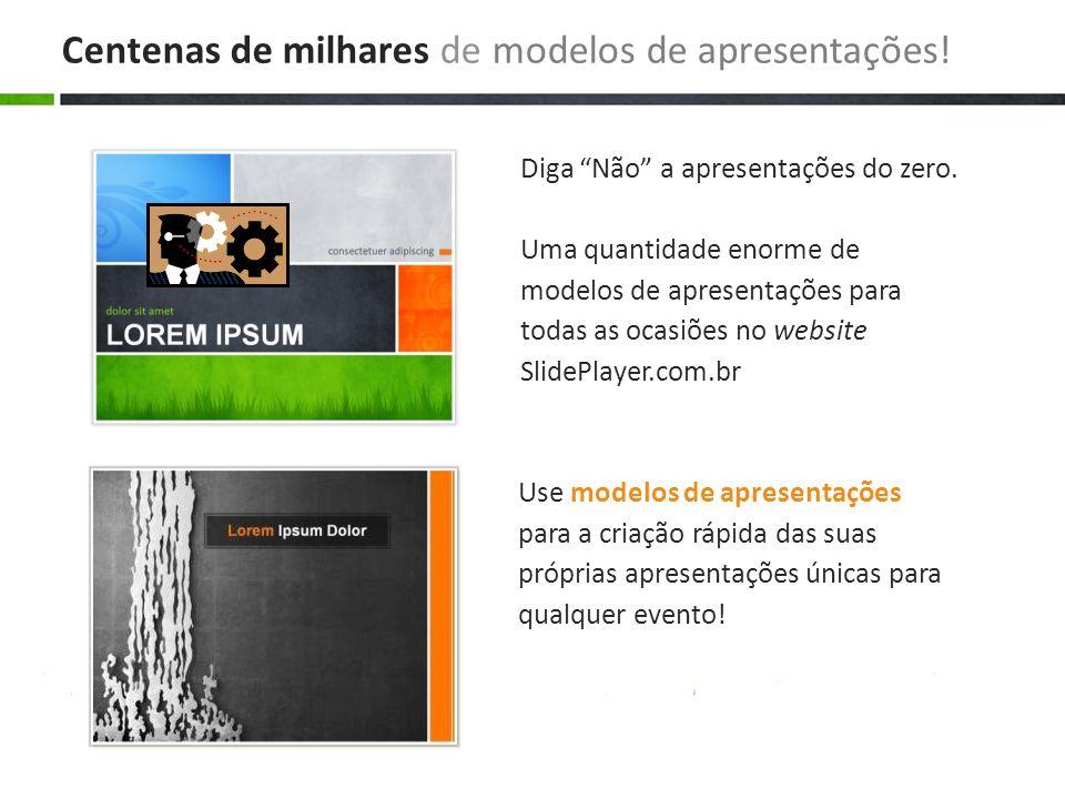 Faça o download e edite com rapidez, facilidade e sem custos O website SlidePlayer.com.br é 100% gratuito Pesquise as apresentações e faça o download completamente grátis.