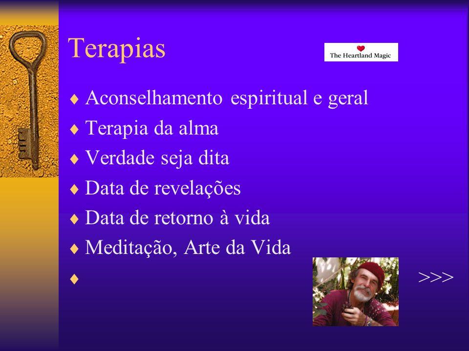 Terapias Aconselhamento espiritual Uma verdadeira viagem obtida através de conexões com nossos mentores espirituais.