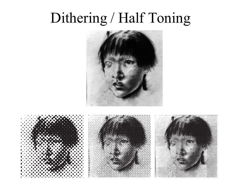 Dithering / Half Toning