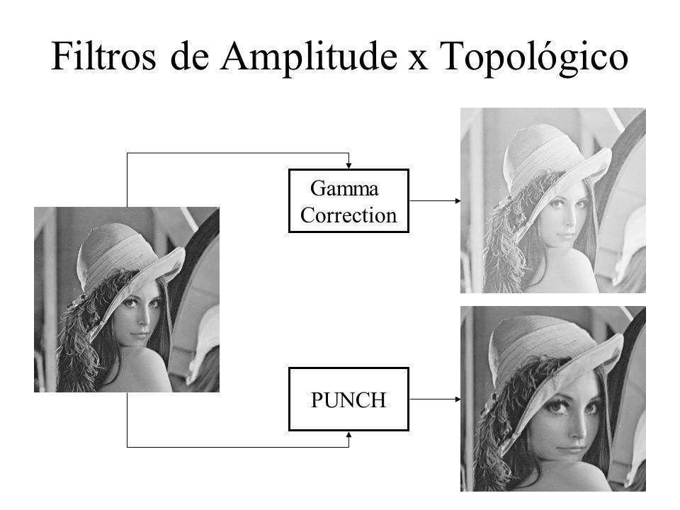 Filtros de Amplitude x Topológico Gamma Correction PUNCH