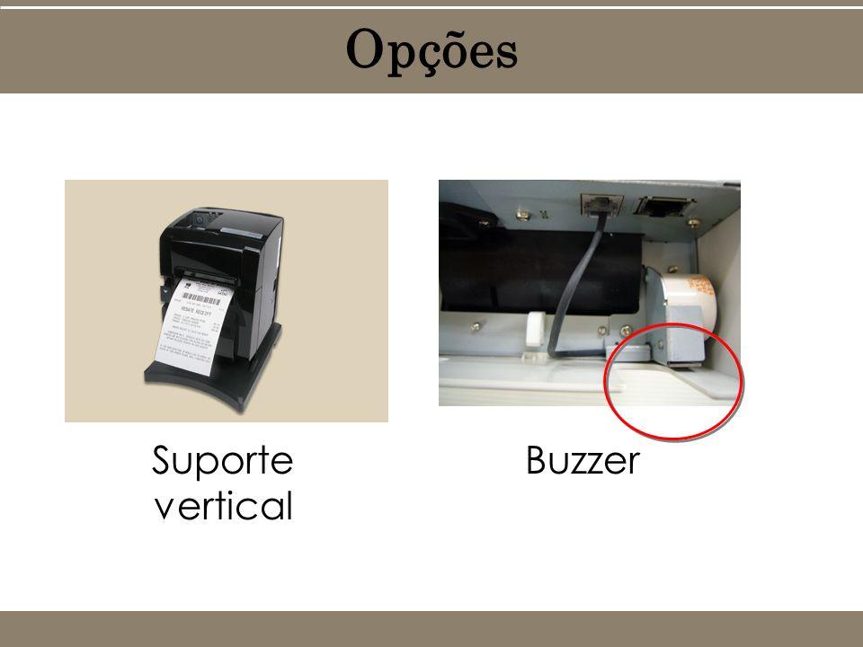 Opções Suporte vertical Buzzer